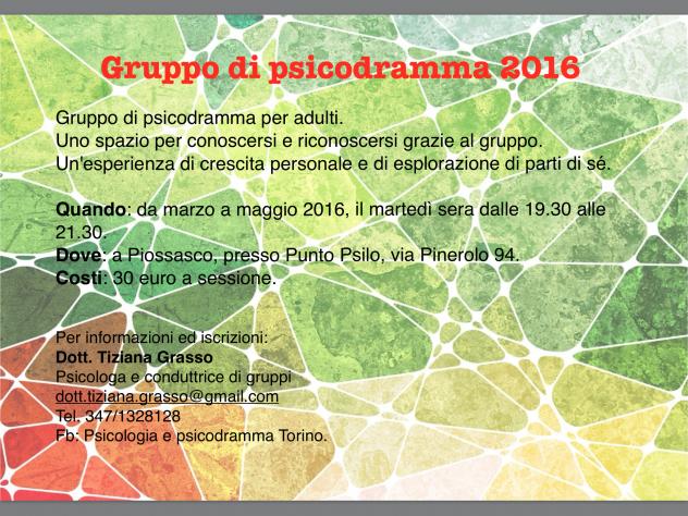 psicodramma 2016